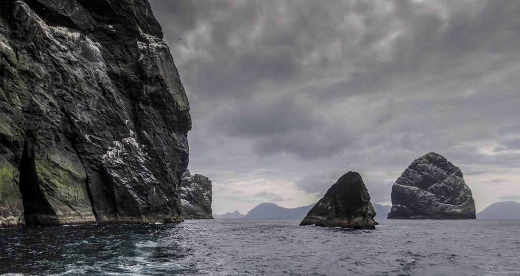 St Kilda rocks